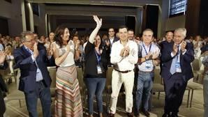 Imagen de la clausura del congreso del PP de Sevilla