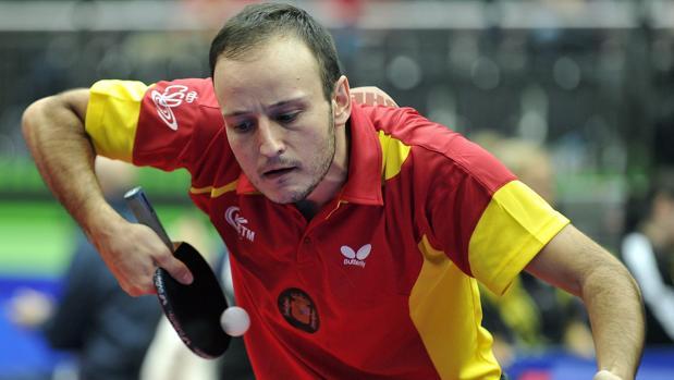 El jugador del Cajasur Priego y la selección española Carlos Machado