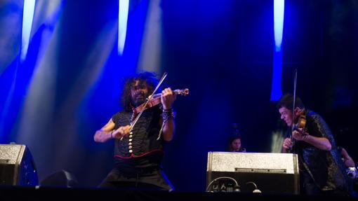 Ara Malikian, durante uno de sus conciertos