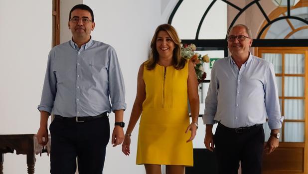 Susana Díaz anuncia que el Presupuesto 2018 será «expansivo»