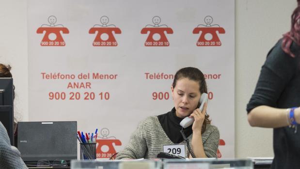 Teléfono de la Fundación Anar contra el maltrato al menor