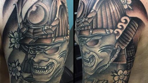 Tatuaje de un cliente de Madriz 13