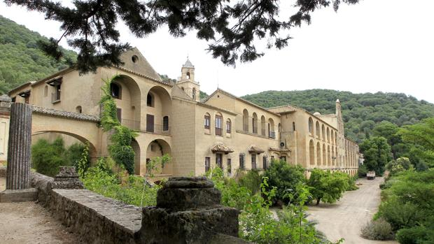 Vista exterior del Real Monasterio de San Jerónimo de Valparaíso