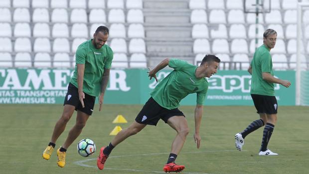 Markovic, junto a Edu Ramos
