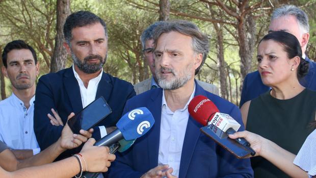 El consejero de Medio Ambiente, José Fiscal