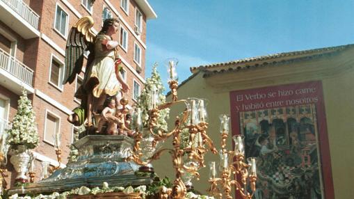 Procesión de San Rafael con motivo del jubileo del 2000