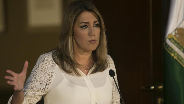 La presidenta de Andalucía, Susana Díaz, este miércoles
