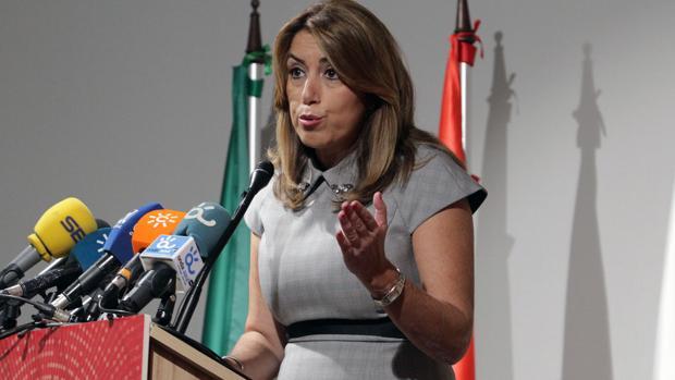 La presidenta de la Junta de Andalucía en unas recientes declaraciones