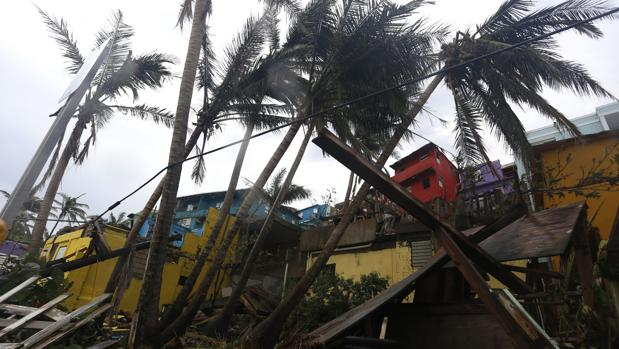 Destrozos causados por el huracán María en Puerto Rico