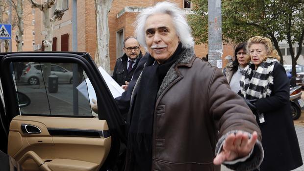 Rafael Gómez «Sandokán» a su salida de los juzgados