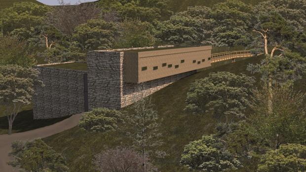 Centro del lince que se proyecta en el parque temático