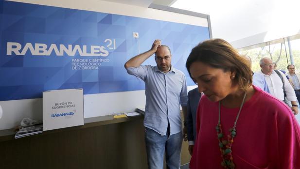 Visita de la alcaldesa en septiembre a Rabanales 21 para explicar el plan de viabilidad del tecnoparque