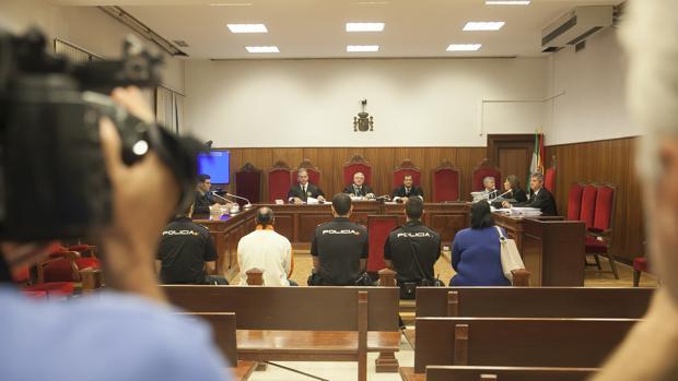 Un momento del juicio celebrado en la Audiencia Provincial de Córdoba
