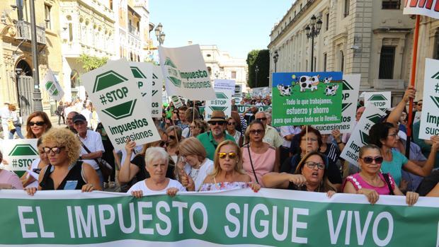 Varios miles de manifestantes este sábado en Sevilla, según los organizadores