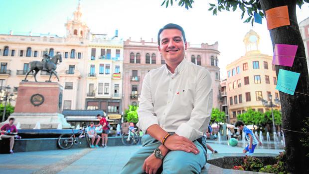 José María Bellido durante la entrevista con ABC