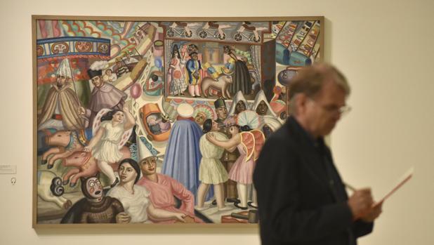 Una de las obras que pueden verse en esta nueva exposición del Museo Picasso