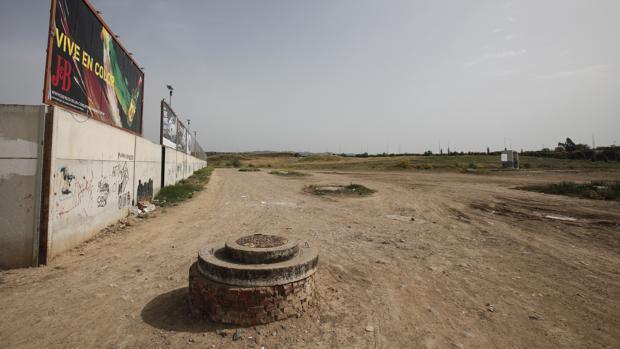 Espacio en el que se va a construir el Parque de Levante