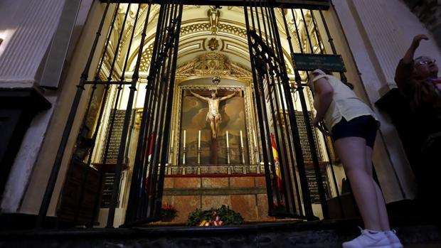 Capilla donde está enterrado el Inca Garcilaso de la Vega en la Mezquita-Catedral de Córdoba