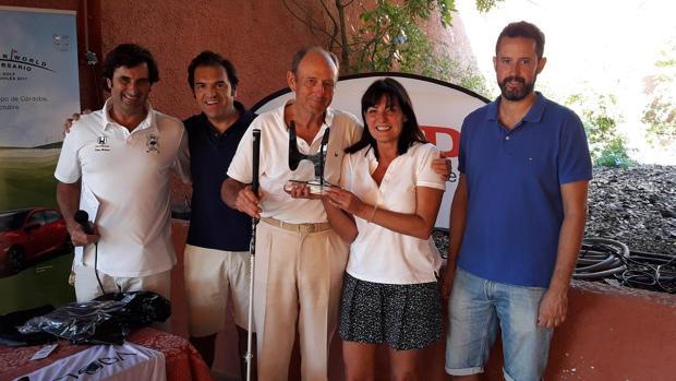Jorge Martínes Sagrera, ganador del Torneo Honda-Icsa