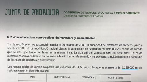 Documento oficial de la Junta de Andalucía