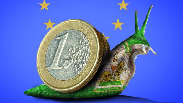 La Comisión Europea advierte que Andalucía es una de las regiones europeas más rezagadas