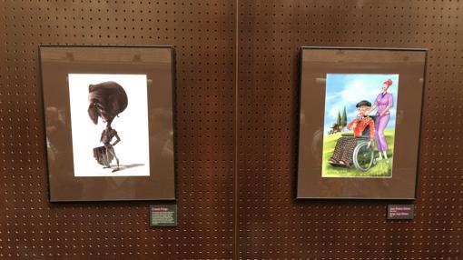 Dibujos de Ernesto Priego y Juan Álvarez y Jorge G.