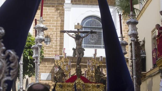La Palma es de las cofradías más alejadas del inicio de Carrera Oficial
