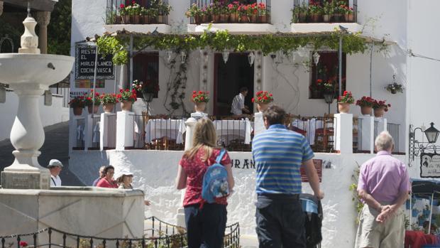 Centro del pueblo de Mijas