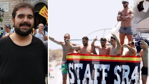 El portavoz nacional del SAT, Óscar Reina, ha acusado a Sergio Ramos de ser un «nazi que canta el Cara al Sol»