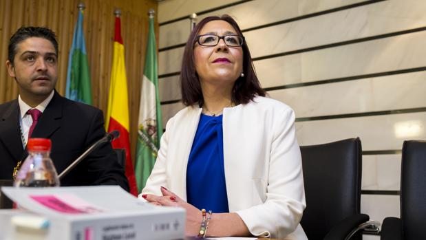 La alcaldesa de Punta Umbría, Aurora Aguedo
