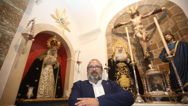 Manuel Garrido López, nuevo hermano mayor del Perdón.