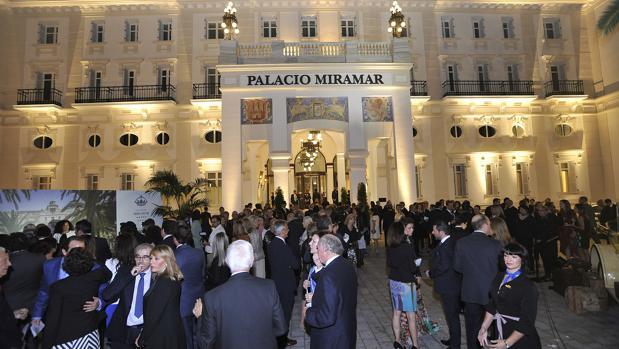 La inauguración del hotel Miramar en Málaga