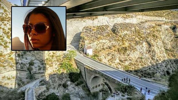 Kleyo de Abreu y el lugar del accidente