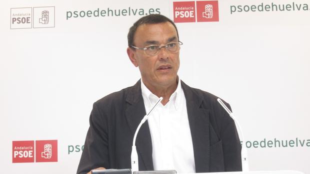 Ignacio Caraballo, presidente de la Diputacion de Huelva