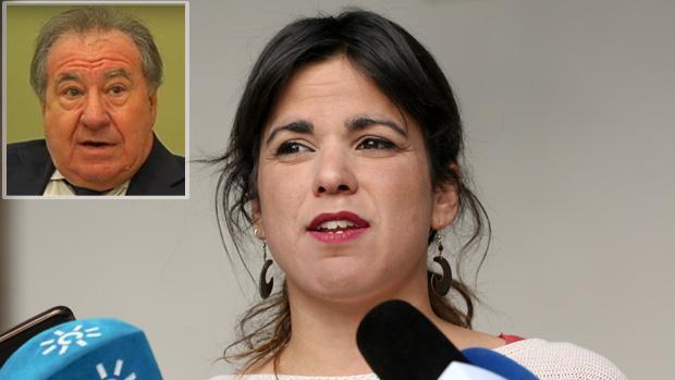 Teresa Rodríguez y el empresario encausado