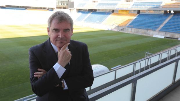 Manolo Vizcaíno, presidente del Cádiz