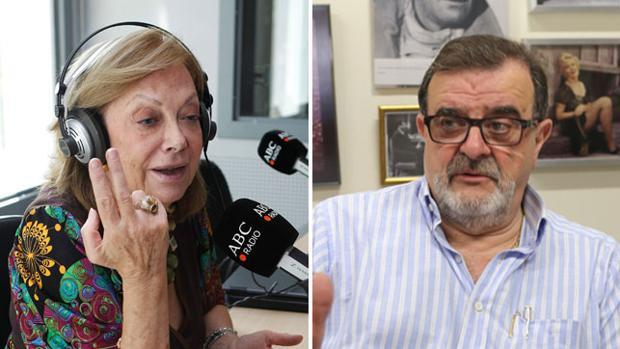 Amparo Rubiales y José Rodríguez de la Borbolla
