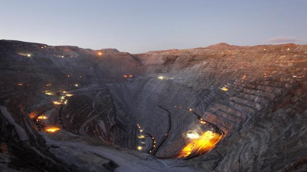 Mina de oro y cobre en Chile
