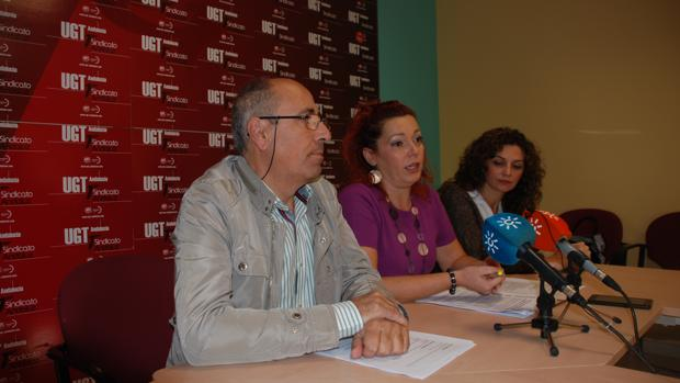 Rueda de prensa de FeSP-UGT de Córdoba