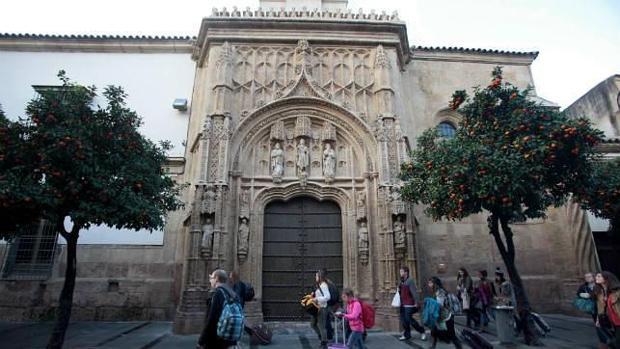 Fachada del antiguo Hospital de San Sebastián