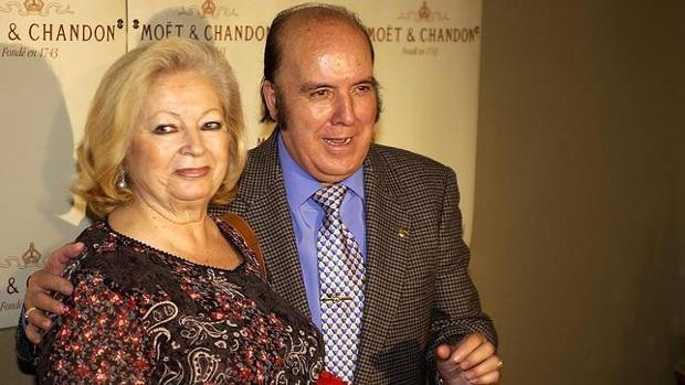 Chiquito de la Calzada y su mujer Pepita García eran inseparables