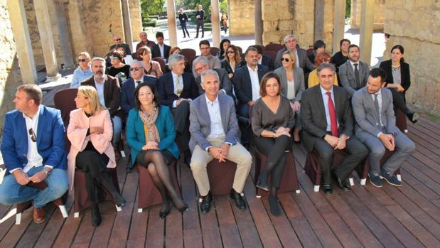 Alcaldes y alcaldesas de la Ciudades Patrimonio, en Medina Azahara
