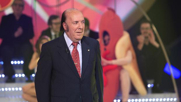 Chiquito de la Calzada, durante su etapa televisiva