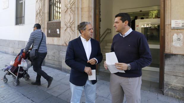 José María Bellido y Salvador Fuentes Fuentes