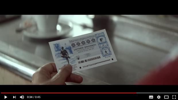 Manolete, en el décimo de la Lotería Nacional del 17 de junio