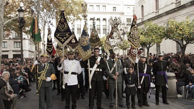 Desfile del Congreso de Bandas de Sevilla