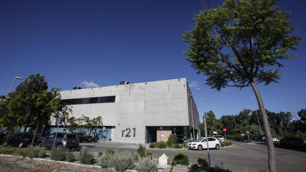 Edificio del parque tecnológico de Rabananales 12