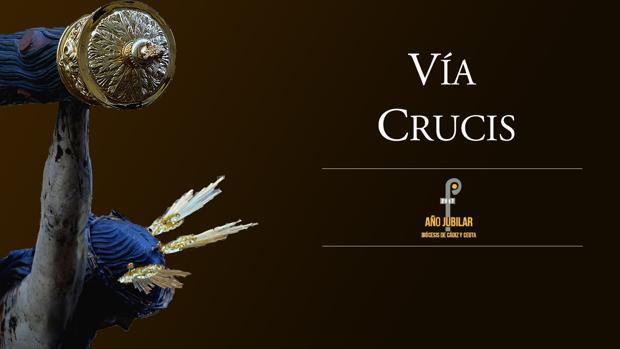 Cartel que anuncia el Vía Crucis del próximo 7 de julio