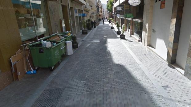 Calle Vázquez López de Huelva