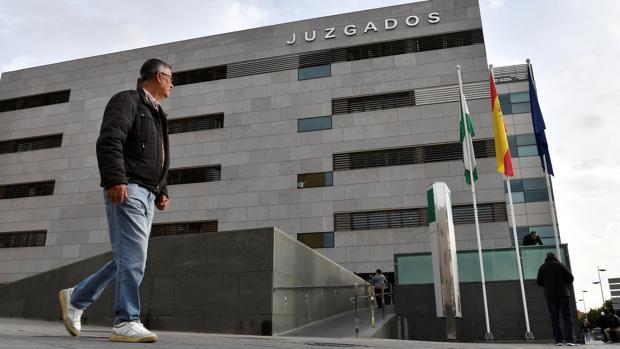 Vista exterior de la Ciudad de la Justicia de Almería